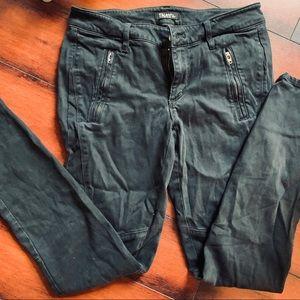 Aritzia TNA Tight Black Cargo Pants